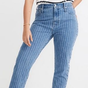 Madewell Jeans The Perfect Vintage Crop High Rise